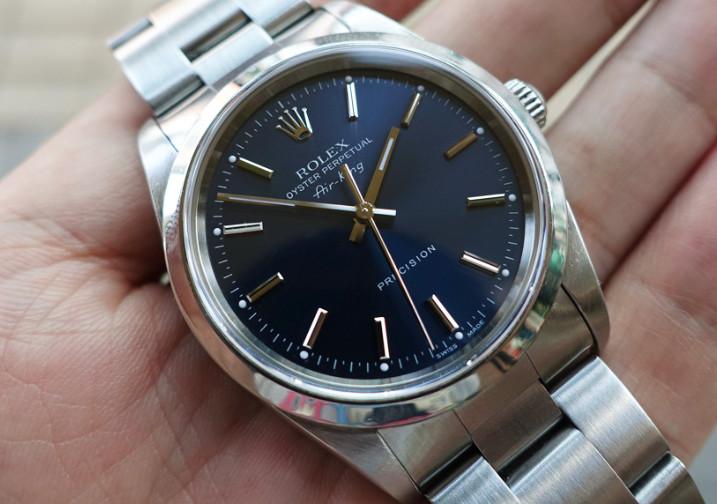 劳力士格林尼治型手表误差分析